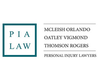 P I A Law. McLeish Orlando; Oatley Vigmond; Thomson, Rogers. Personal Injury Lawyers.
